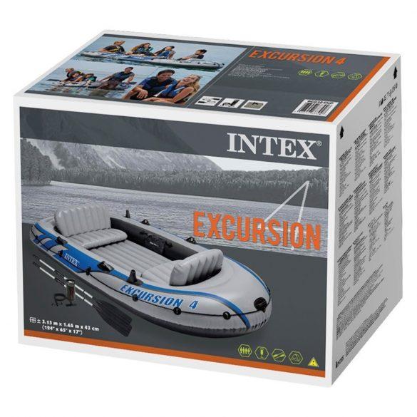 Gumicsónak , horgászcsónak . EXCURSION 4 500kg  Intex