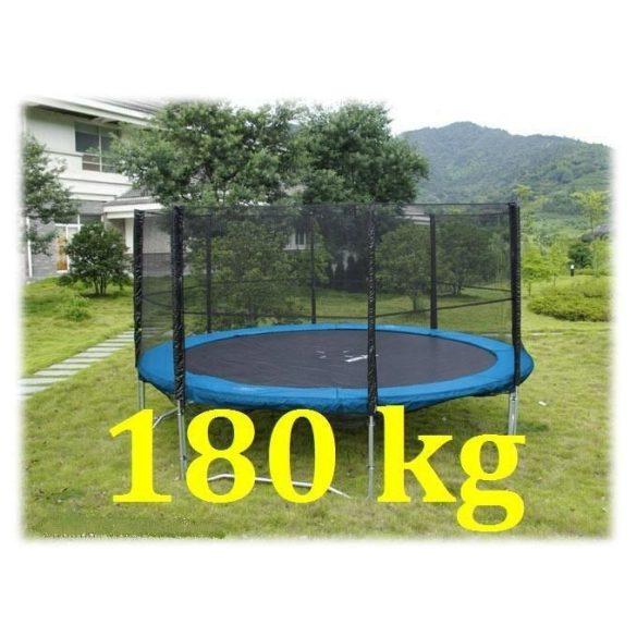ROUND TRAMBULIN 400cm +védőháló 180kg !!!  szett