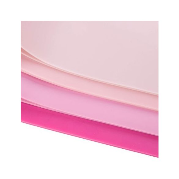 4 elasztikus rózsaszín gumiszalag készlet , szalaggal való edzéshez
