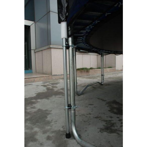 XXL ROUND TRAMBULIN 490cm +védőháló 180kg !!!  4,9m szett