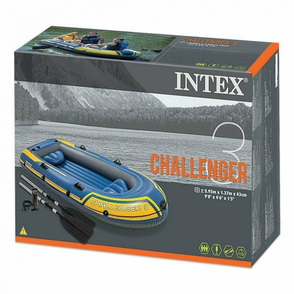Intex gumicsónak Challenger 3 + evezők és pumpa