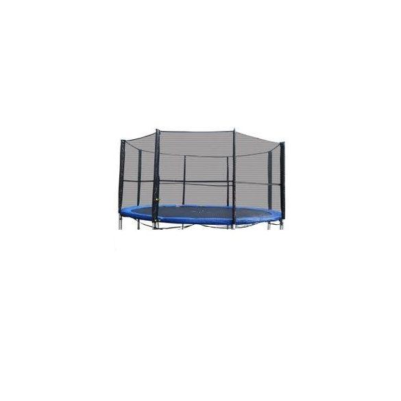 Biztonsági háló , védőháló + rudazat 427 -430cm-es trambulinhoz. 14'