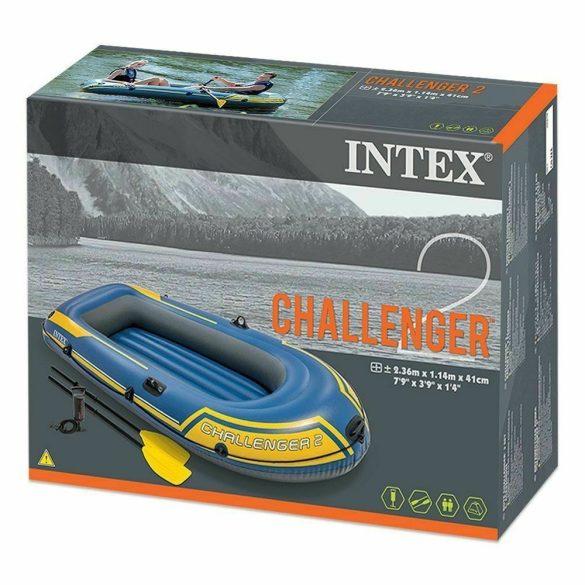 Intex gumicsónak Challenger 2 evező és pumpa