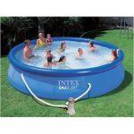 Intex Easy-set medence 457cm x 84 cm + vízforgató