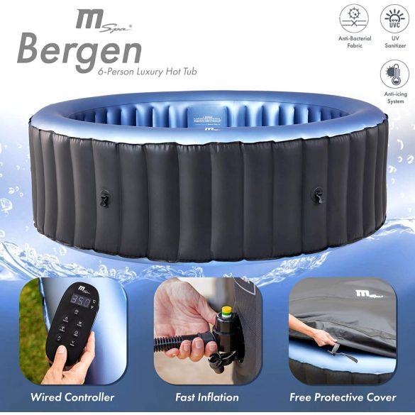 MSpa CONFORT BERGEN C-BE062 felfújható pezsgőfürdő 6 szem. jacuzzi