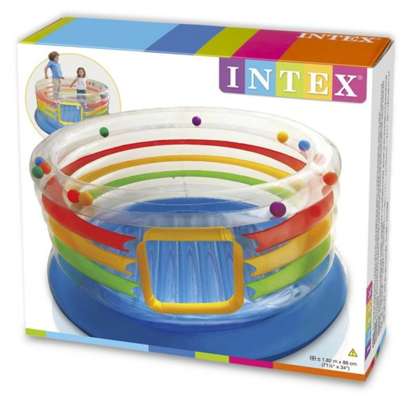 INTEX Jump-O-Lene Átlátszó ugráló 182x86cm
