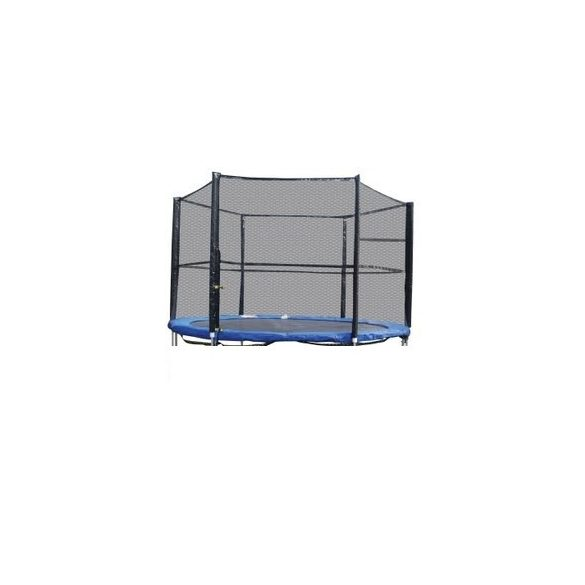Trambulin biztonsági háló , védőháló + rudazat  305cm  10'