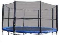 Trambulin biztonsági háló , védőháló 305cm 10'     8 oszlopos