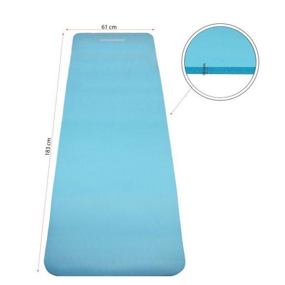 Jóga szőnyeg 183 x 61 x 1 cm