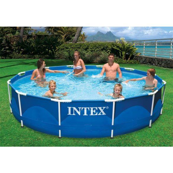INTEX fémvázas medence 366x76cm Metal Frame