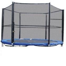 Trambulin biztonsági háló , védőháló 305cm 10'   6  oszlopos