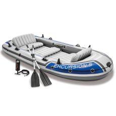 Intex Nafukovací čln Excursion 5 Set 600kg