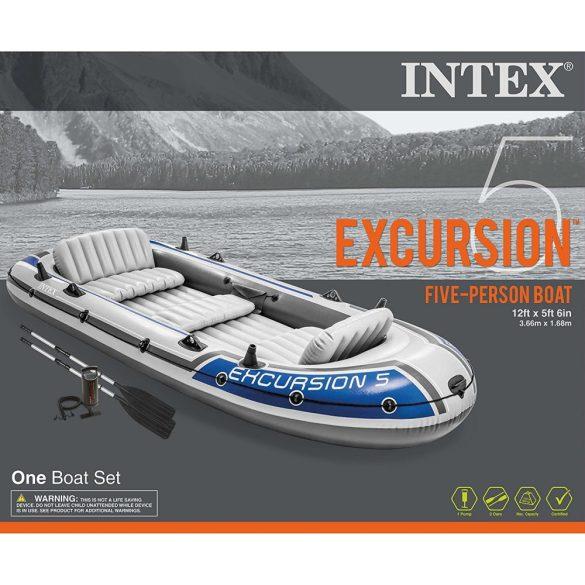 Intex Gumicsónak , horgászcsónak . EXCURSION 5