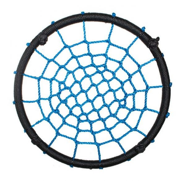 Fészekhinta fekete / kék 60CM