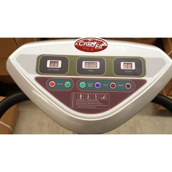 Vibrációs tréner Crazy Fit , 500W,  Vibrációs gép