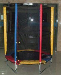 ROUND MINI TRAMBULIN   140 cm + védőháló