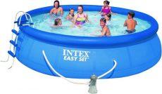 Intex Easy-set medence 457cm x 122 cm Komplett szett.