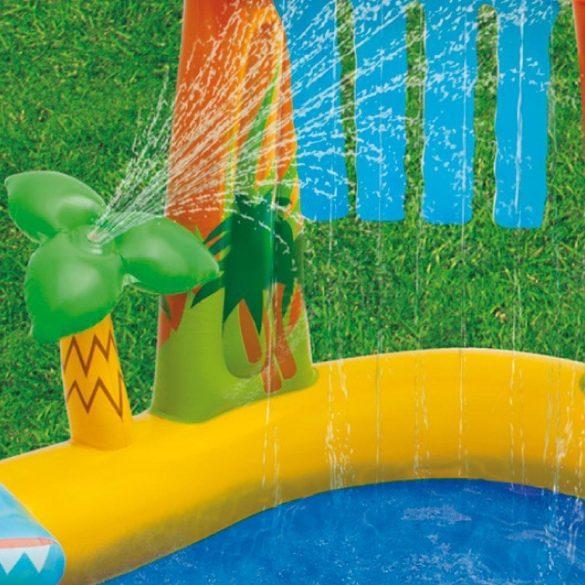 intex dinoszaurusz gyerek medence , pancsoló