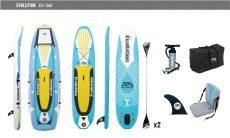 EVOLUTION Aqua Marina 2 az 1-ben kajak és SUP Paddle Board