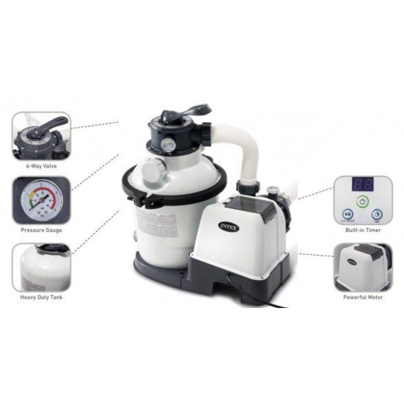 Intex nagy teljesítményű homokszűrős vízforgató 4,0m3/h