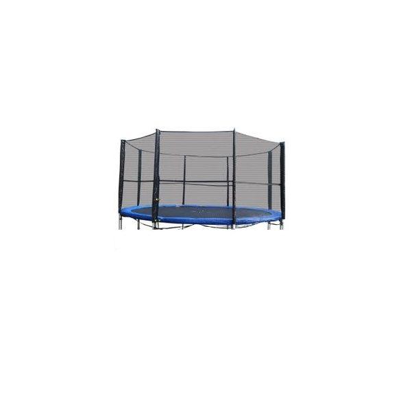 Biztonsági háló , védőháló + rudazat 396 -400cm-es trambulinhoz. 13'
